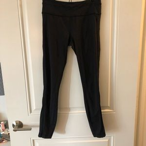 Lululemon Black 7/8 Leggings